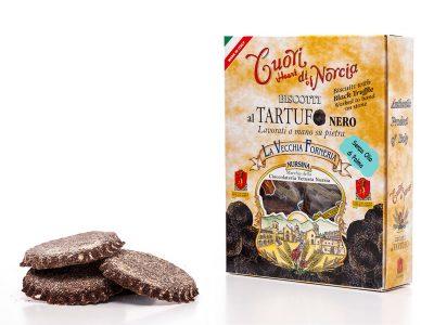 Biscotti al tartufo nero