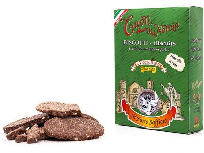 Biscotti Pressati al Farro Soffiato senza olio di palma
