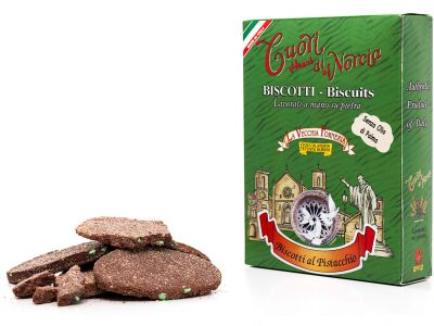 Biscotti Pressati al Pistacchio senza olio di palma