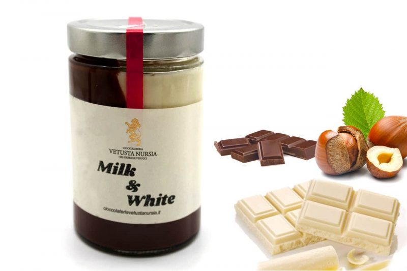 immagine per Crema spalmabile Milk & White