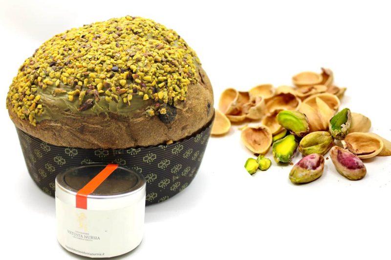 immagine per Panettone con crema per farcitura al pistacchio